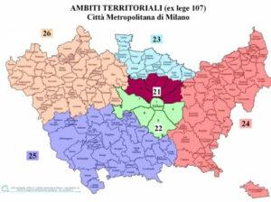 Ambiti Territoriali - Città Metropolitana di Milano